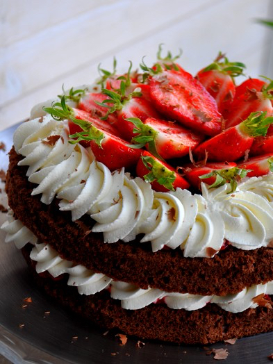 Layer Cake Framboise  Personnes