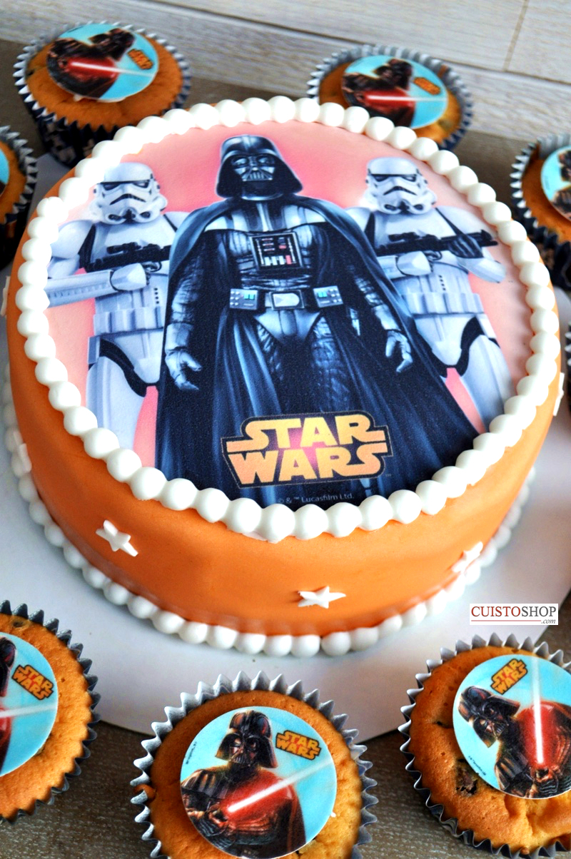 deco gateau star wars