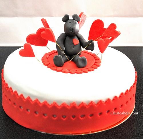Blog Cake Design Recette : Gateau pate a sucre