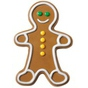 Moule Gingerbread Boy en chocolat, bonbons..
