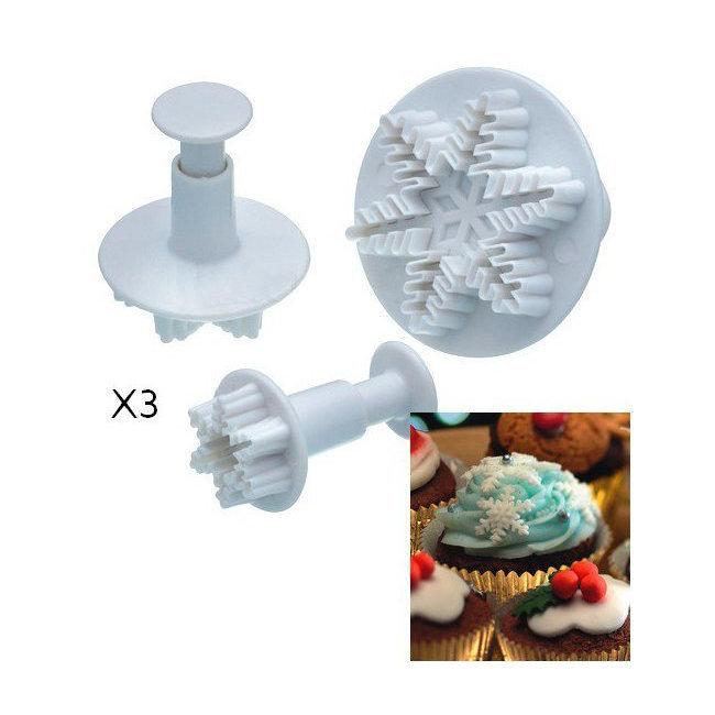 emporte piece flocon reine des neiges po le cuisine inox. Black Bedroom Furniture Sets. Home Design Ideas
