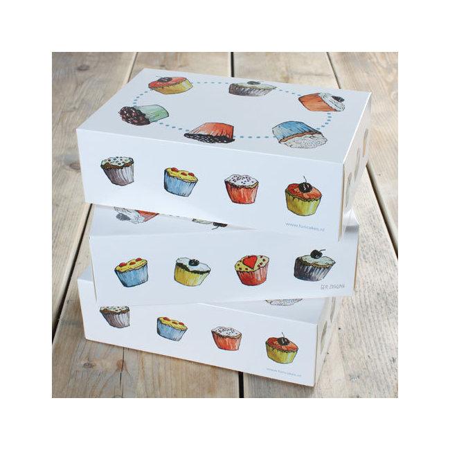 Boites Pour Transporter Gateaux Rainbow Cake