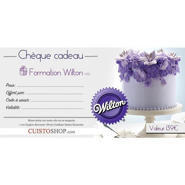 atelier cake design ch que cadeau formation wilton cuistoshop. Black Bedroom Furniture Sets. Home Design Ideas
