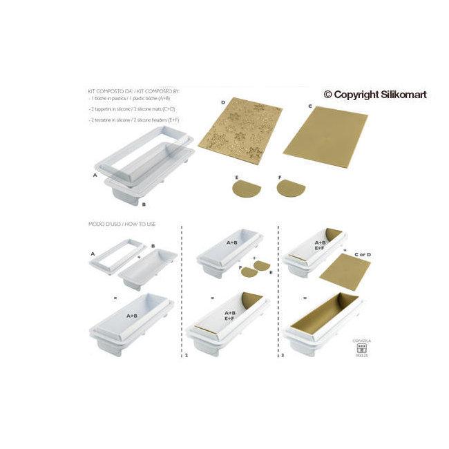 moules easy cream silikomart moule b che frozen silikomart kit complet cuistoshop. Black Bedroom Furniture Sets. Home Design Ideas