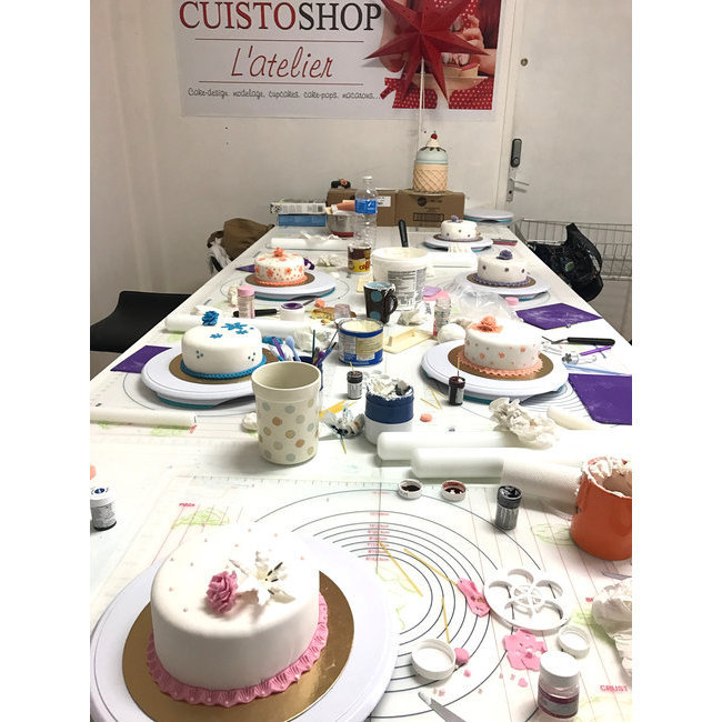 Cake Design Formation Toulouse : Atelier Cake-design > Formation de base Cake design (3H ...