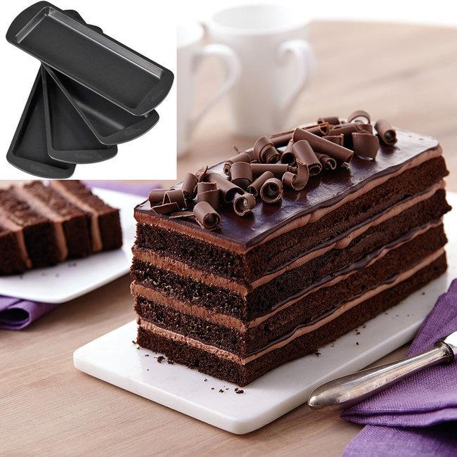 cake design p te sucre moules pour pi ce mont e layer cake g teau 3d kit de 4 moules. Black Bedroom Furniture Sets. Home Design Ideas