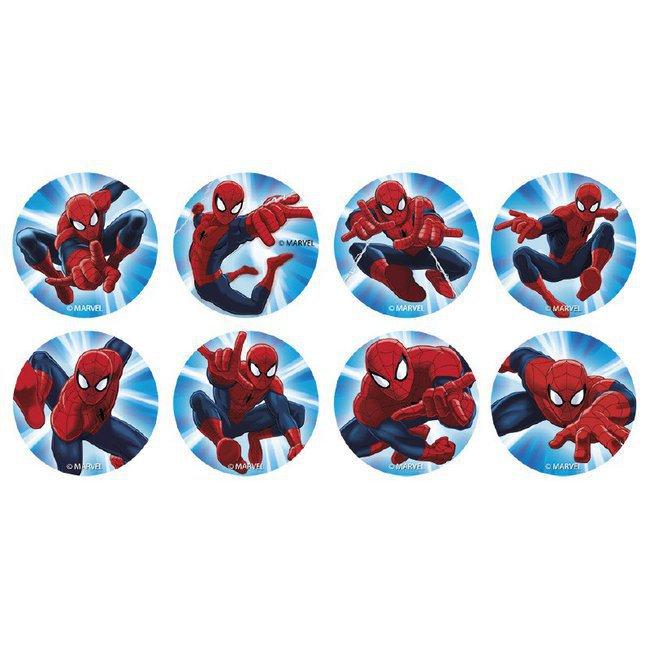 Par th me super h ros et personnages gar ons 16 mini - Decoration spiderman pour anniversaire ...