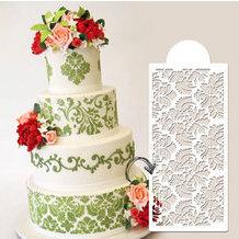 Cake Design Pâte à Sucre Décoration De Gâteau Au Pochoir
