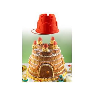 cake design p te sucre moules pour pi ce mont e layer cake g teau 3d moule chateau en. Black Bedroom Furniture Sets. Home Design Ideas
