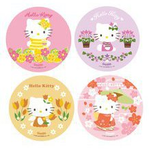 1 grand Disque azyme Hello Kitty