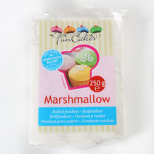 pate a sucre blanche saveur marshmallow