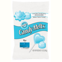 Candy Melts bleu (pistoles) Wilton