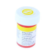 colorant en gel wilton jaune lemon - Colorant Gel Wilton