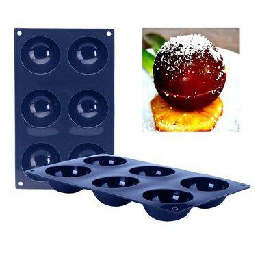 moules d mes et demi sph res moule 6 d mes en silicone cuistoshop. Black Bedroom Furniture Sets. Home Design Ideas