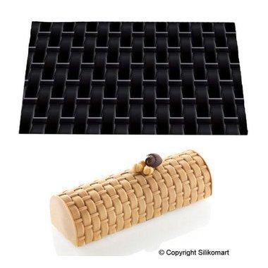 tapis en silicone effet bois silikomart. Black Bedroom Furniture Sets. Home Design Ideas