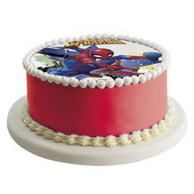 Disque en sucre SPIDERMAN 16cm