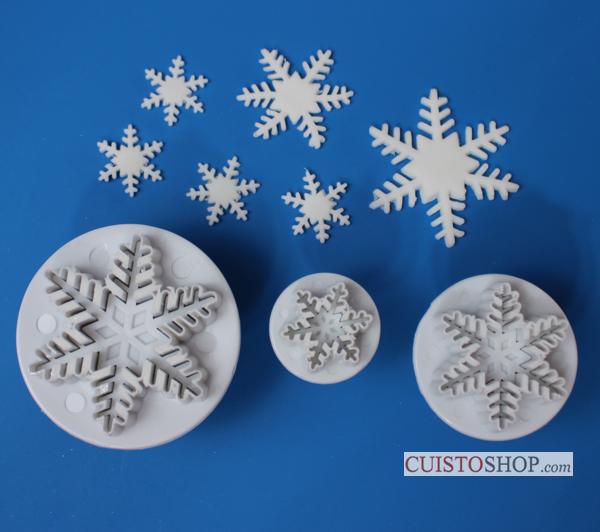 Emporte piece reine des neiges po le cuisine inox for Decoration porte reine des neiges