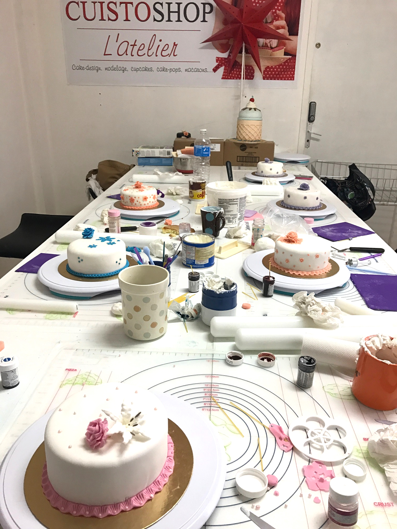 Atelier Cake-design > Formation de base Cake design (3H ...