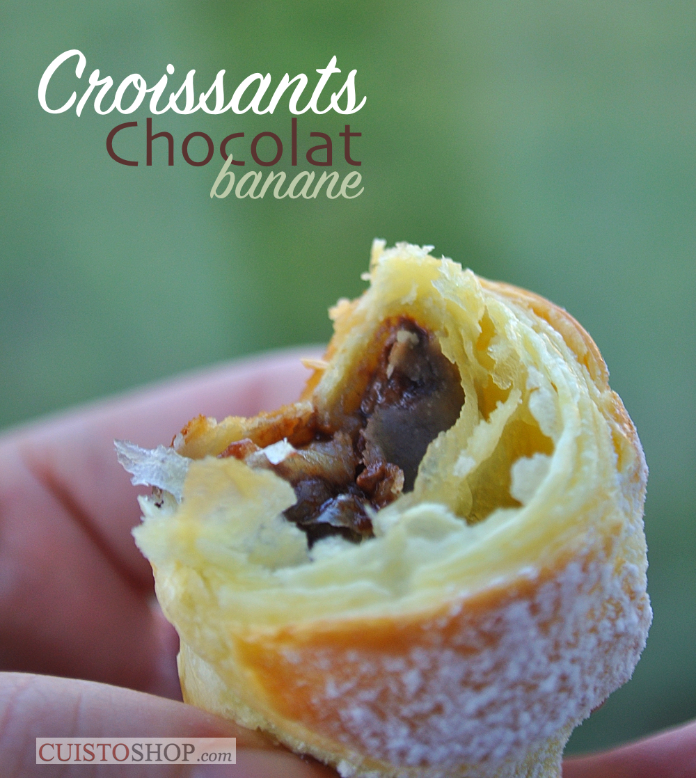 blog  billet croissant feuillete recette