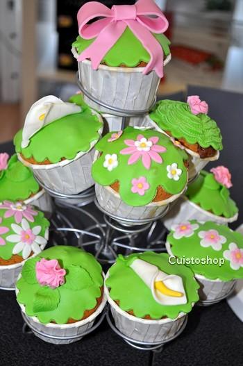 P te a sucre utilisation conservation de la p te a sucre - Deco pour cupcake ...