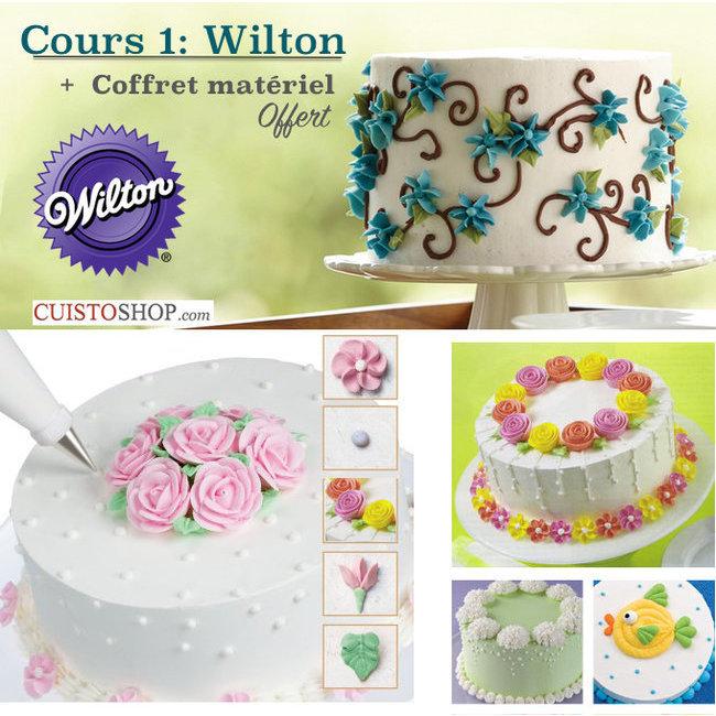 Formation Wilton N2: Fleurs et déco en Glaçage Royal + coffret ...