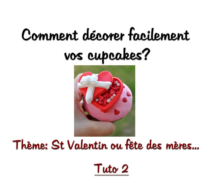 Comment décorer des cupcakes? VIDEO (part2)