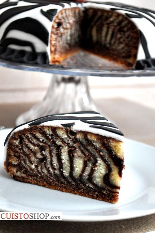 Zebra Cake Moelleux