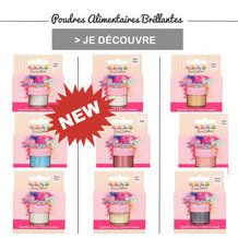 Colorants en poudre scintillants