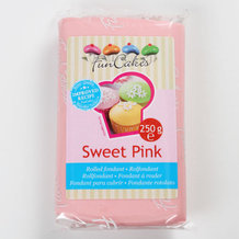 Pate a sucre ROSE funcakes 250g