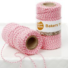 20 mètres Ficelle Bakers Twine Rose