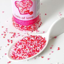 "Nonpareils ""Lots of love"" pot de 80g"