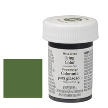 "Colorant alimentaire en gel ""Moss green"""