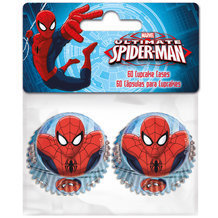 60 mini cupcakes SPIDERMAN
