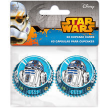 60 mini cupcakes STAR WARS