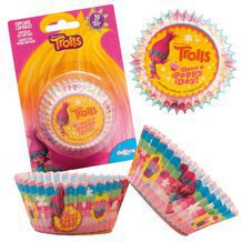 50 caissettes TROLLS taille standard