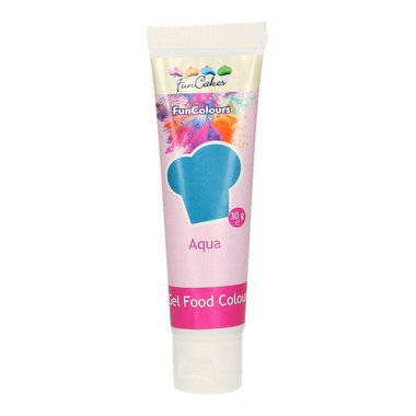 Colorant en gel Funcakes aqua