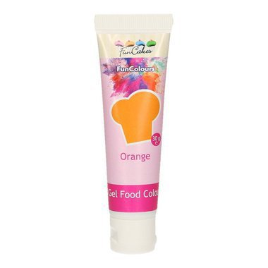 Colorant en gel Funcakes Orange