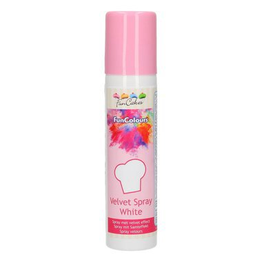 SPRAY VELOURS FUNCOLOURS -BLANC- 100ML