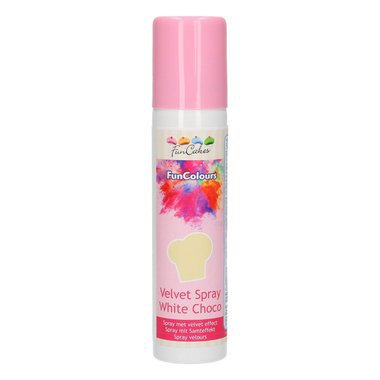 SPRAY VELOURS FUNCOLOURS -Chocolat blanc- 100ML