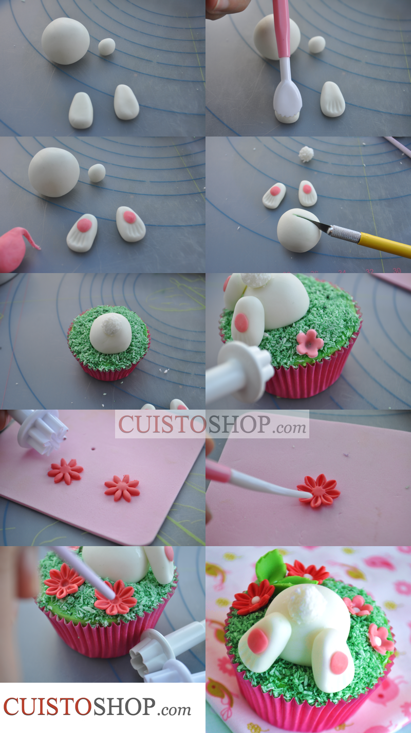 Cupcakes P 226 Ques Lapin