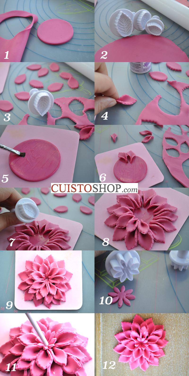 Fleur Pate A Sucre Ea04 Humatraffin